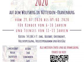 Sommerfreizeit-Nuetterden 2020